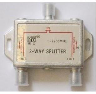 Signal splitter power splitter one point 2 second