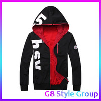 Free Shipping 2013 Mens Jackets and Coats Sport Suits Tracksuits For Men Hooded Men Fashion Designer Clothing Plus Size Hoodies