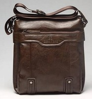 2013 fashion men shoulder bag,men genuine leather messenger bag,business bag,free shipping NB002