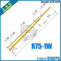 R75-1W 26.5MM SPRING TEST PROBES RECEPTACLE