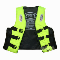 Adult professional life vest life vest child snorkel whisted belt