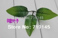 100pcs wedding decoration artificail rose flower leaf diy flower ball accessories