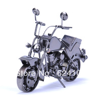 Large size handmade heavy iron metal simulation motorcycle model creative gift arts and crafts decoration