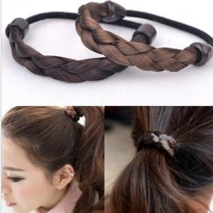 Braids Elastic Hairband Hair Accessories 2pcs/lot-in Hair Accessories