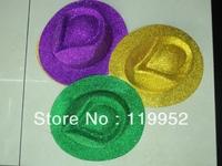 Magic hat,  Cowboy Hat, Performing Supplies,Mix color 12pcs/lot  free shippng