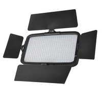 Best DV-360 360 Pcs LED Video Light for Camera DV Camcorder with battery and Grip+Bag