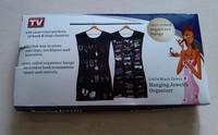 Unbreakable black jewelry storage bag accessories bag jewelry organizer