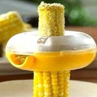 Diy food tools corn grain gearshaping corn thresher separator
