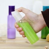 100ml PET  Refillable Lotion Bottle (transparent )