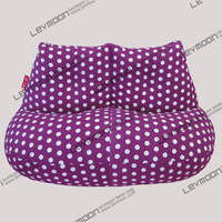 FREE SHIPPING green dot beanbag chair modern loveseat 100% cotton canvas fabric bean bag chair bean bag sofa bean bag cover