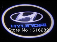 4th generation Welcome door light Ghost Shadow Light Car Door Light Replacement  for Hyundai free shipping