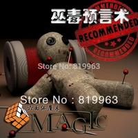 Voodoo magic-fantasy supernatural prophecy,street magic,close up magic,mentalism, magic tricks,free shipping