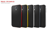 On sale Bumblebee SGP NEO HYBRID case for Samsung Galaxy S4 SIV i9500  Shipping free 50pcs/lot S029