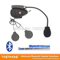 Bluetooth wireless intercom 1pcs  Wireless Motorcycle intercom Bluetooth Interphone Motor Helmet Headset 100m  FM