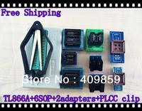 Free ship V6.0 Russian Manual TL866A+PLCC/32/44/clip+SOP8/16/28 USB Universal Bios programmer ICSP FLASH\EEPROM TSOP