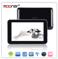 7'' Multi-touch Android 4.0 Tablet PC Sanei N77 Front Camera AllWinner A13 1GHz 512MB DDR 3 8GB ROM Wifi External 3G OTG 1080P
