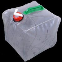 10L PVC Foldable Camping Water Container,Auto Car Use Water Bag,Free Shipping