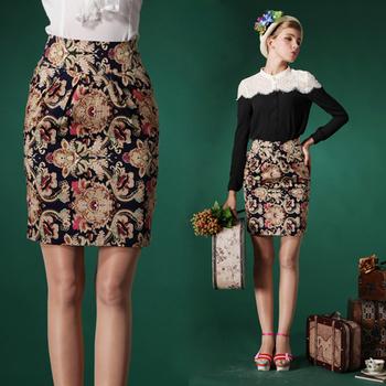 Узкая винтажная юбка выше колена с чем носить, где заказать