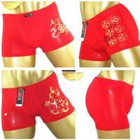 4 male panties trunk red panties fiber panties comfortable modal