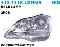 2005-22006 Toyota CROWN Head Lamps, Not with Bulb