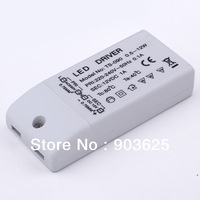 10pcs/lot MR16 MR11 3W 6W 9W 12W LED DRIVER POWER SUPPLY Electronic transformer DC 12V  Wholesale Dropshipping