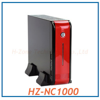 MINI ITX case nettop AMD N330 Dual Core 2.3GHz RS880M+SB820M ATI HD4200 WIFI 1080P HDMI MINI PC 2G/320G