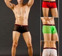 wholsale mesh men boxer shorts new style men underwear men pants 2013 new style  boxer underwear men pants boxer