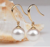 Free shipping/Promotion Small white pearl earrings,high quality earrings,fashion jewelry,wholesale jewelry,women's gift