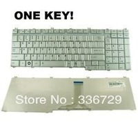 New Laptop keyboard for Toshiba Satellite L500 L500D L505 L505D silver