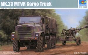 Trumpeter 01011 1/35 MK.23 MTVR Cargo truck plastic model kit(China (Mainland))