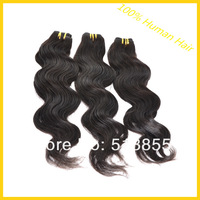 "Cheap Indian Remy Hair Extension Body Wave 12""-28"" 5/6pcs/lot Queen Human Hair Machine Weft Weave 50g/pcs 1b 2# 4# Color"