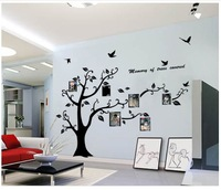 Extra Large 170x210cm Photo Frame  removable Tree Kids/Living Room Art Mural Wall Sticker Decal