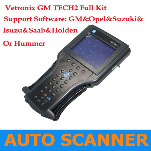 2013 Best Selling GM TECH2 support 6 software(GM,OPEL,SAAB ISUZU,SUZUKI HOLDEN) Full set diagnostic tool Vetronix gm tech 2(China (Mainland))