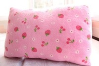 Pillow case set pillow cover strawberry powder pink small strawberry pillow cover pillow covers cotton cloth double bolster