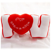 Three-dimensional u sweet plush pillow cushion lovers gift  FREE SHIPPING