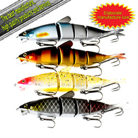 Free shipping Mad Snake(150mm 40g) fishing lure flexible bait 5pcs-489#