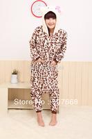 EMS 15 pcs/Lot Pajamas Cosplay Costumes Animal Leopard  Anime Pyjamas Sleepwear