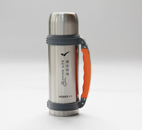 Vacuum travel pot stainless steel vacuum cup outdoor water bottle male sports cup vacuum cup 750ml 1200ml