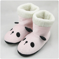 Plush boots floor boots thermal cotton boots derlook cotton-padded slippers home boots 0.3kg three-color  FREE SHIPPING