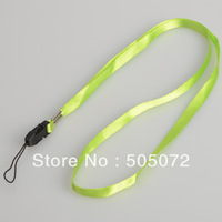 10PCS Green Neck Strap Lanyard for Cell Phone Mp3 ID IPOD Camera D0215