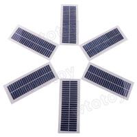 6 pcs/lot ST-65X166 12V 100mA Solar Power Panels 166mm x 65mm  20793