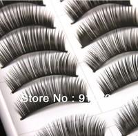 Free shipping THICK DIY False eyelashes handmade fake eyelashes artificial eyelashes fashion eyewinker as photo studio Makeup.