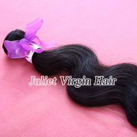 "Free Shipping 2pc Malaysian Body Wave Hair,5A Grade Virgin Human Weave Hair 3.5oz/pc #1B Color 12""-30"" Can Be Dyed Or Bleached"