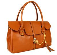 fashion handbags women pu Embossed rivets Leather  Tassel large big bags Vanguard