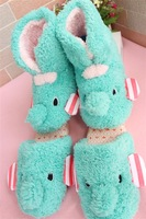 Lovely circleof floor slippers home boots warm boots slippers 0.25kg  FREE SHIPPING