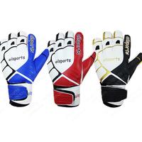 Keeper Glove Ailsports band finger goalkeeper gloves latex full football goalkeeper gloves breathable lungmoon gloves