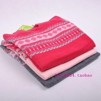 Autumn and winter cashmere sweater child sweater basic pullover