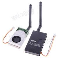 FPV5812 5.8G 1.2W AV Sender Transmitter+FOX-R58 Receiver Set for FPV Telemetry System  20741