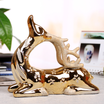 Fashion ceramic onta decoration commercial gift decoration