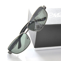 Hot selling Anti-ultravialot rays polarized sunglasses men high quality alloy frame driver glasses free shipping(GL42)